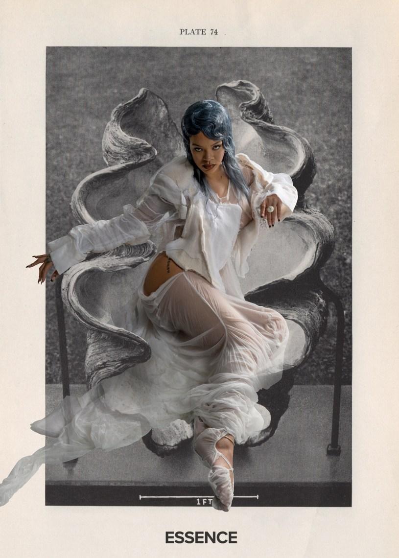 Rihanna White Dreamy Image