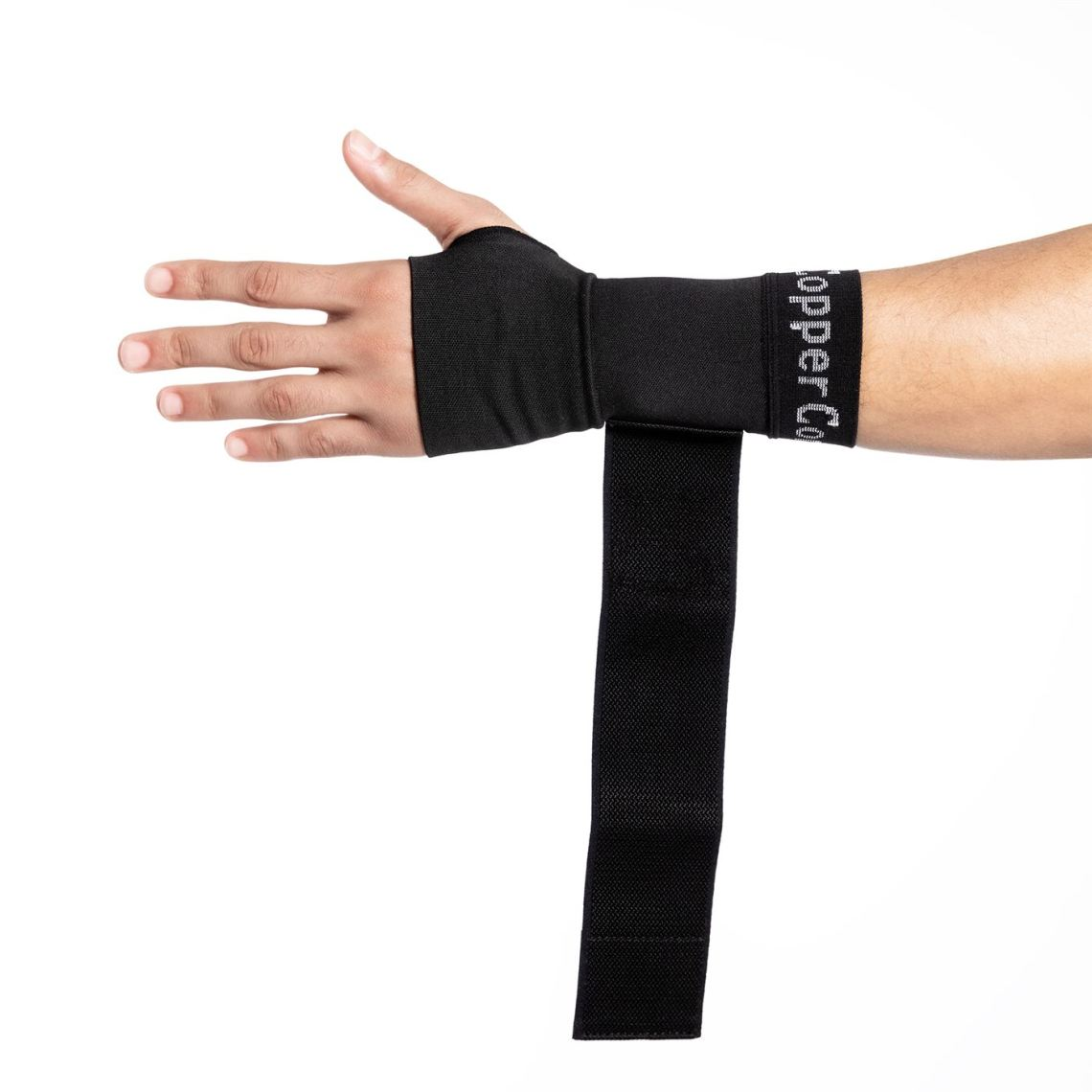 Wrist Sleeve with Adjustable Wrap_Copper Compression