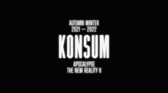"ACCIDENTAL CUTTING  ""KONSUM aw 21 22-  Apocalypse the new reality II"""