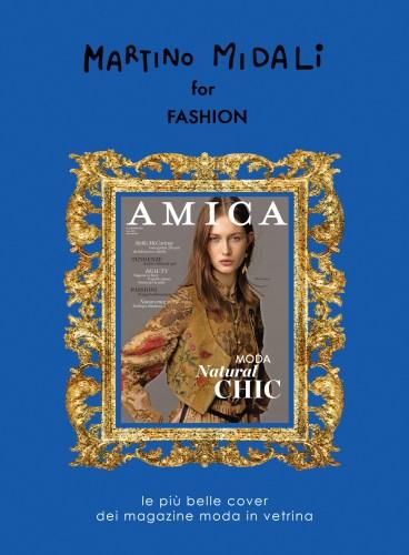 Martino Midali for Fashion: Amica Cover