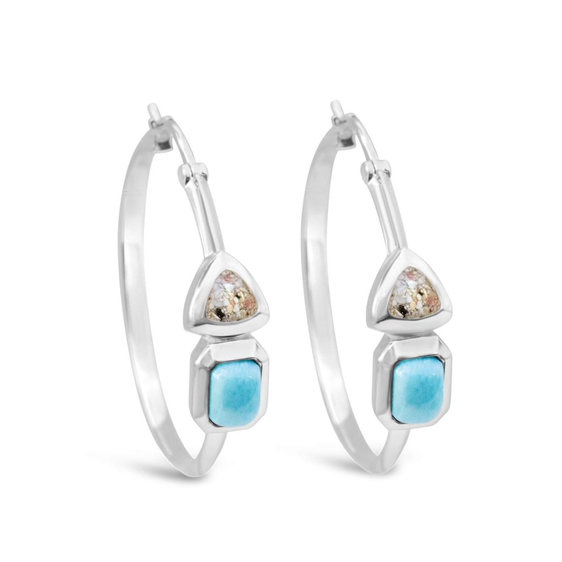 Serenity Hoop Earrings Side-1 copy