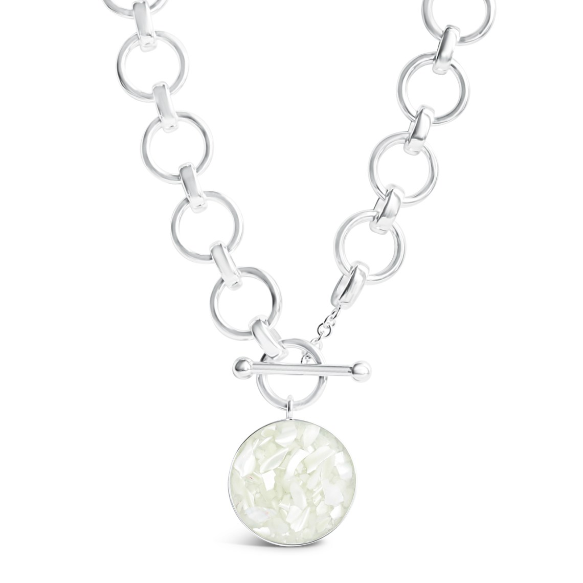 The Mediterranean Necklace Mother of Pearl