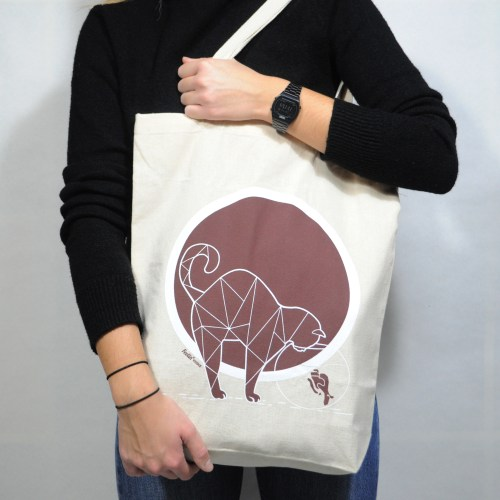 The Cat and Fish shopper bag