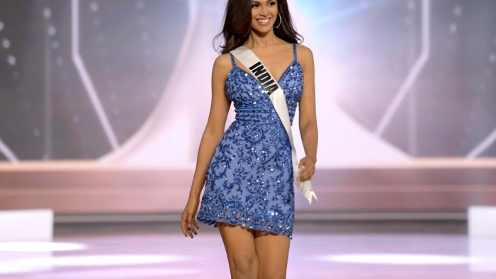 69th Miss Universe Competition® - Preliminary Competition - Opening in Sherri Hill 41
