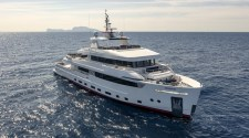 Tommaso Spadolini on new 42m Cantiere delle Marche M/Y Crowbridge