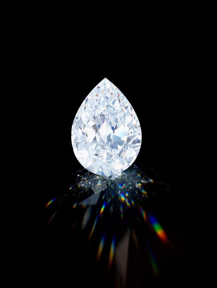 101.38 carat D Colour Flawless Diamond