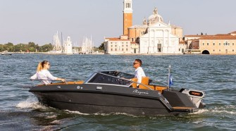 The New Full Electric Magonis Wave e-550 Enchantsthecanals of Venice