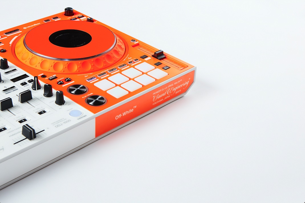Introducing the limited-edition DDJ-1000-OW, an exclusive collaboration with Off-White™ Available to buy from Pioneer DJ