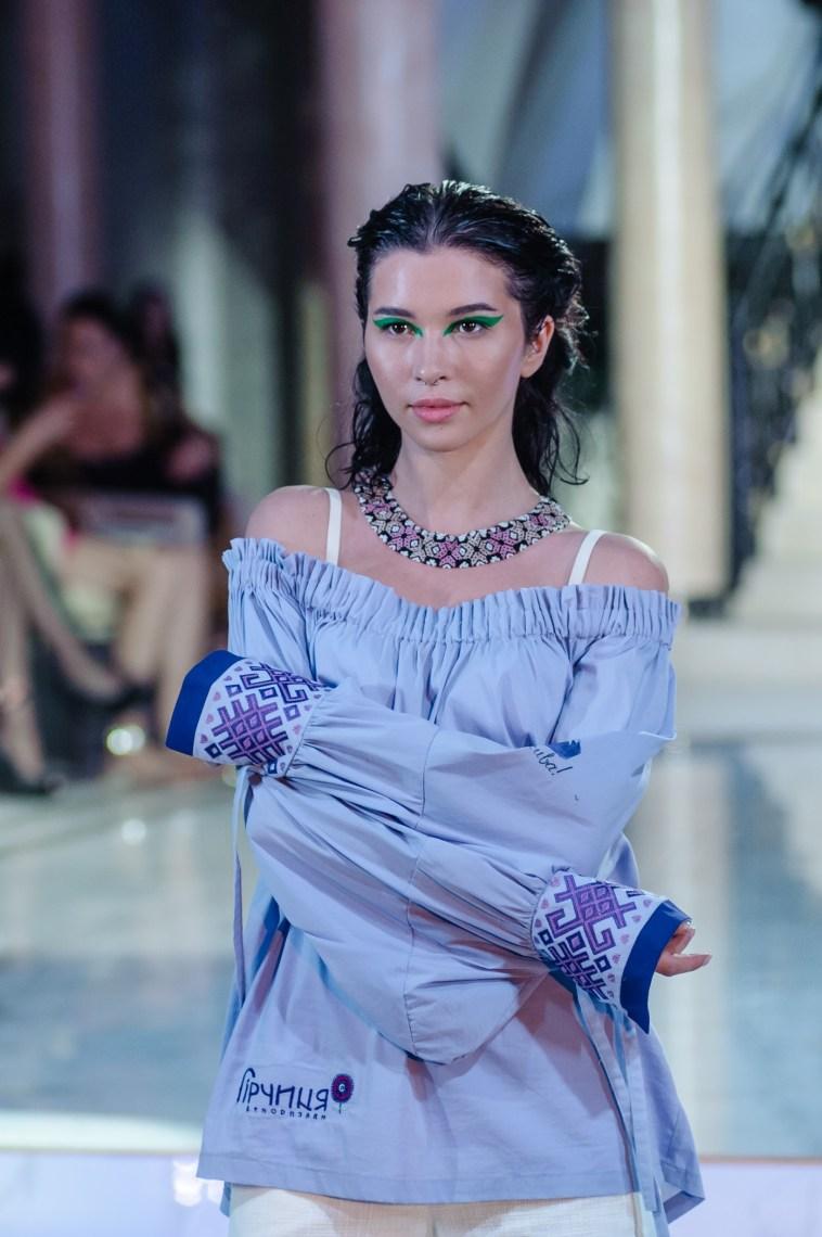 Designer Ksenia Hor presents a brand of unique ethnic clothing Girchicya