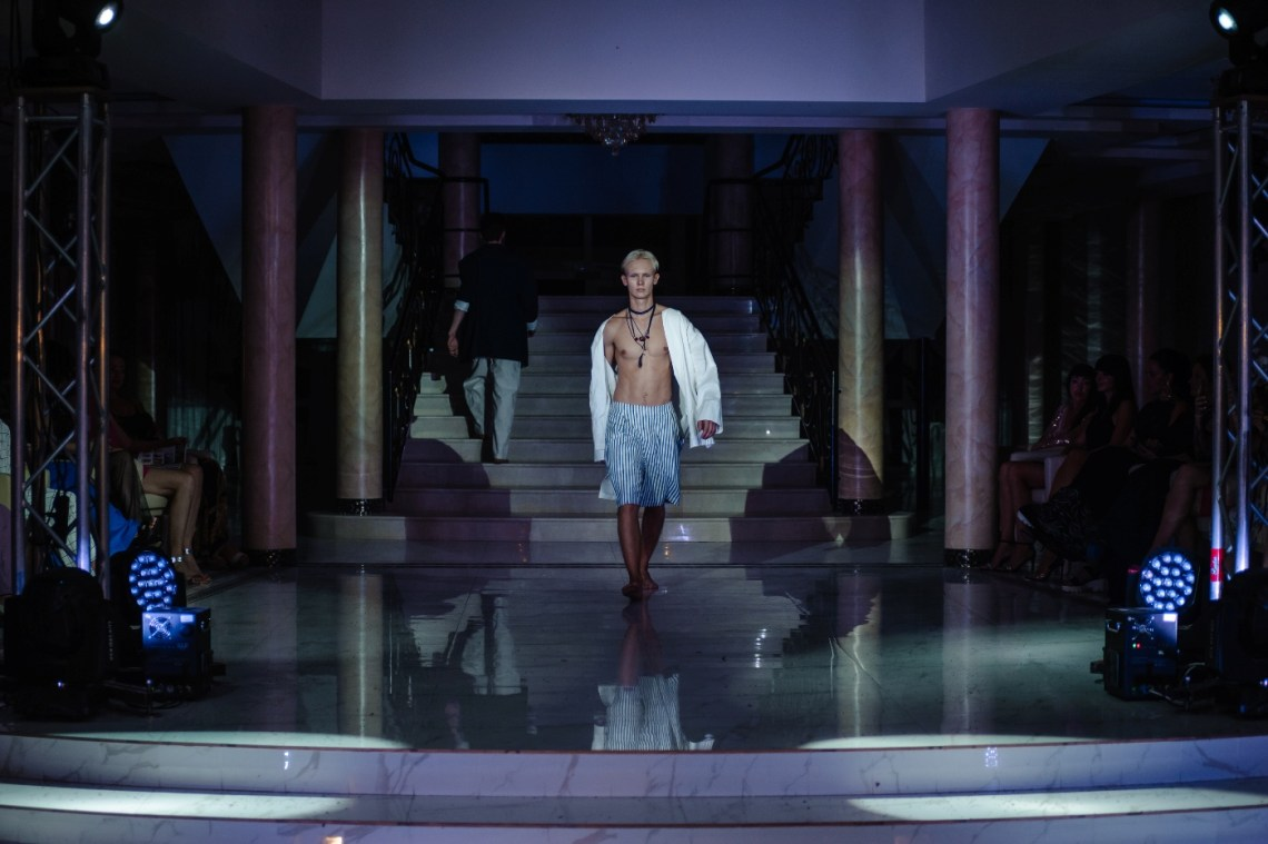 """Pierre Chique brand with a summer collection from natural linen """"Sirocco"""""""