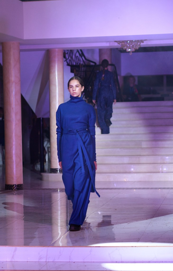 Designer Elmira Zamanova with a collection that tells that change is coming