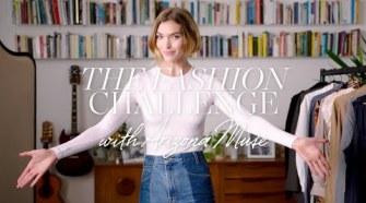 The Sustainable Fashion Challenge with Arizona Muse