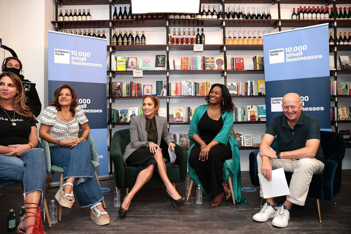 Jennifer Lopez And Goldman Sachs 10,000 Small Businesses Celebrate National Hispanic Heritage Month With Latina Business Owners In The Bronx