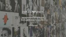 Emporio Armani Spring Summer 2022 40th Anniversary Fashion Show