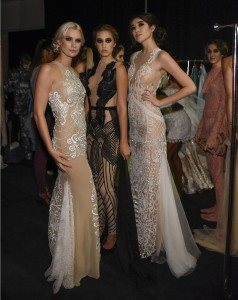 Art Hearts Fashion Los Angeles Fashion Week Backstage and Front Row - Day 1 3