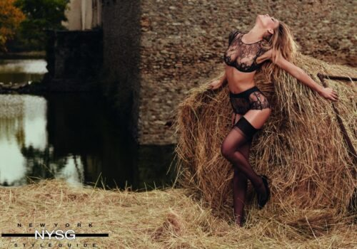 Agent Provocateur SS16 - Sizzling Campaign with Supermodel Bar Refaeli 7
