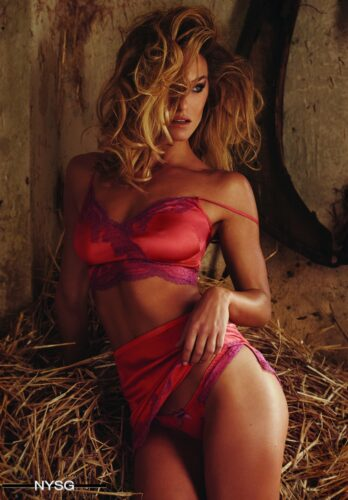 Agent Provocateur SS16 - Sizzling Campaign with Supermodel Bar Refaeli 13