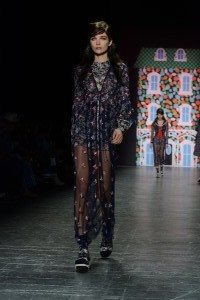 Anna Sui SS17 Collection at New York Fashion Week 19