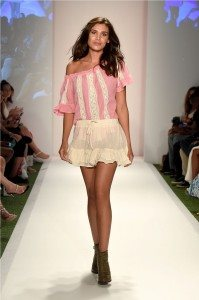 Beach Freedom Glides Gorgeously Down the Runway at SWIMMIAMI 41