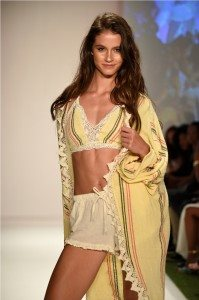 Beach Freedom Glides Gorgeously Down the Runway at SWIMMIAMI 37
