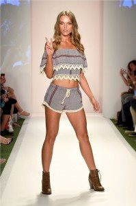 Beach Freedom Glides Gorgeously Down the Runway at SWIMMIAMI 33