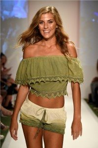 Beach Freedom Glides Gorgeously Down the Runway at SWIMMIAMI 27