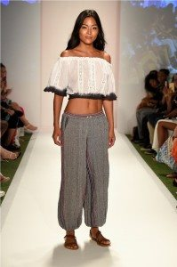Beach Freedom Glides Gorgeously Down the Runway at SWIMMIAMI 23