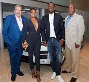 DWYANE WADE & THE COLLECTION REVEALED THE ALL-NEW 2017 JAGUAR XE AND F-PACE 9