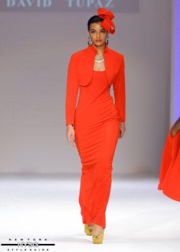 David Tupaz runway show at Style Fashion Week 21