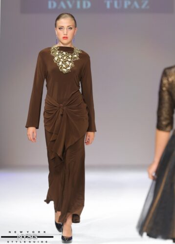 David Tupaz runway show at Style Fashion Week 77