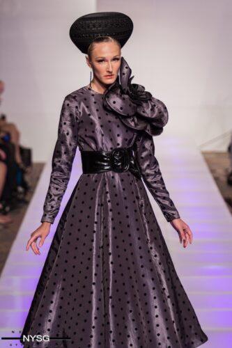 Evgenia Luzhina Couture NYFW 13