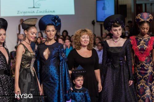Evgenia Luzhina Couture NYFW 1