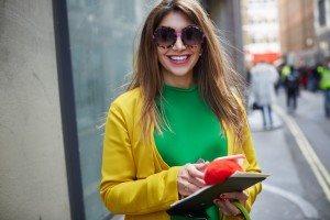London Fashion Week Street Style AW 2016 45
