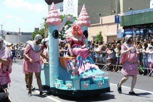 The 34th Annual Mermaid Parade with Queen Mermaid Hailey Clauson 5