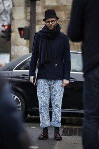 Paris Fashion Week Mens FW16 Street Style 47