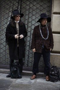 Paris Fashion Week Mens FW16 Street Style 17