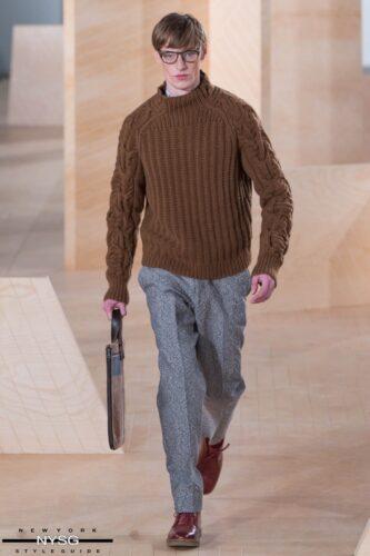 Perry Ellis Runway Show at New York Fashion Week Men's FW16 85