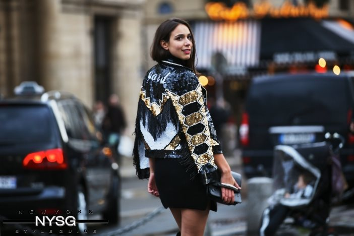 Caught on the Streets of Paris! Paris Fashion Week AW16 1