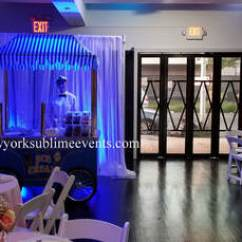 Chair Covers And Tablecloth Rentals Hanging Cocoon Ice Cream Sundae Bar Rental, Ny, New York, Long Island, Brooklyn, Queens, Jersey, Staten ...