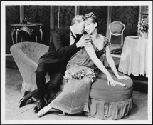 Barbra Streisand as Fanny Brice and Sydney Chaplin as Nick Arnstein in Funny Girl 1964