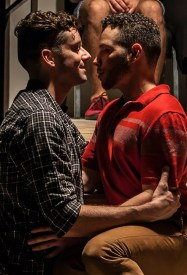 Michael Urie and Robin de Jesus