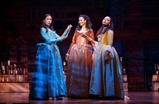 Lexi Lawson, Mandy Gonzalez, and Jasmine Cephas Jones (who has already left)