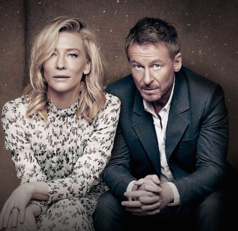 Cate Blanchett and Richard Roxburgh