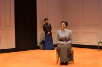 Laurie Metcalf (in background) and Condola Rashad