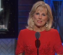 Jill Biden, wife of the former Vice President, got the loudest ovation of the evening. She introduced Bandstand.