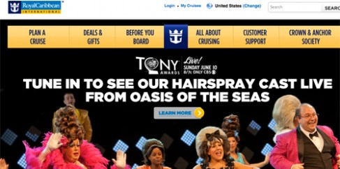 The cast of the Royal Caribbean Cruise production of Hairspray will be performing at the Tonys