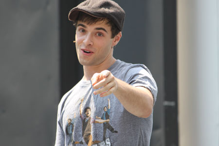 Corey Cott, the new lead of Newsies
