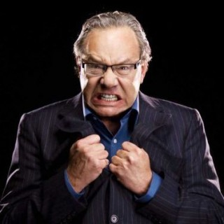 "Lewis Black in ""Running on Empty"" at the Richard Rodgers on Broadway"