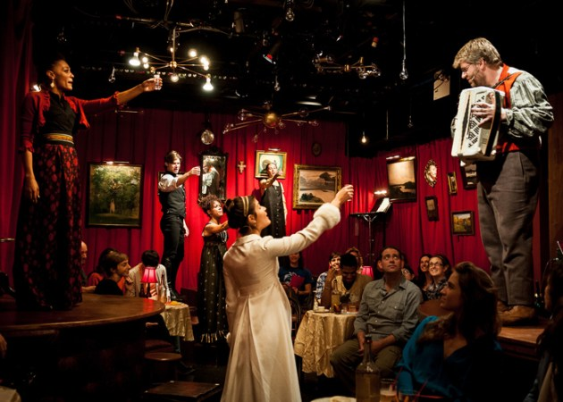 Natasha, Pierre and The Great Comet of 1812, at Ars Nova through November 17, 2012