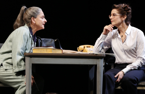 "Patti LuPone and Debra Winger in David Mamet's ""The Anarchist"" on Broadway"